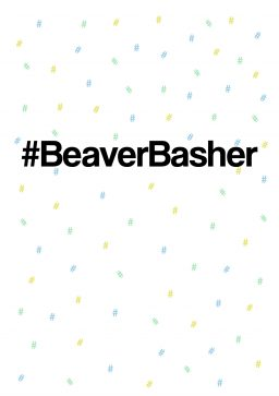 #beaverbasher greetings card