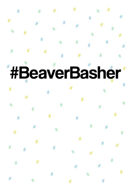 #beaverbasher greetings card